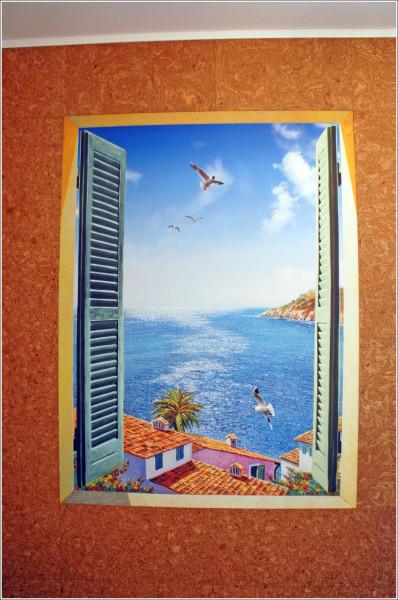 хочу просыпаться и каждое утро видеть за окном голубое небо, чаек и теплое море