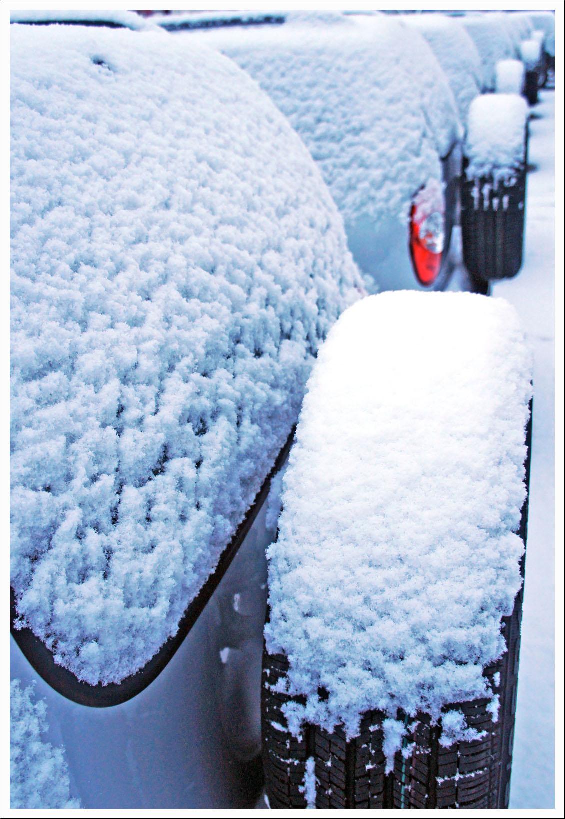 настоящий снег