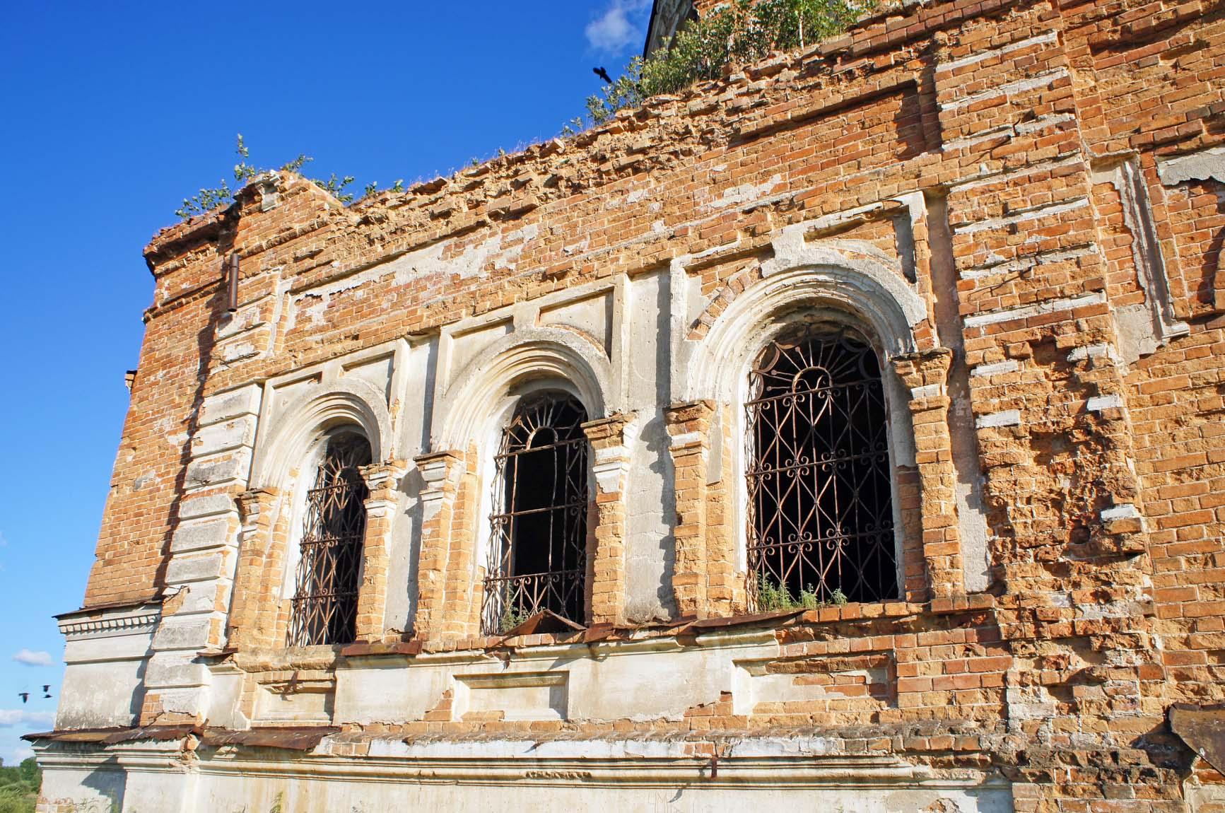 Березовка, детали фасада