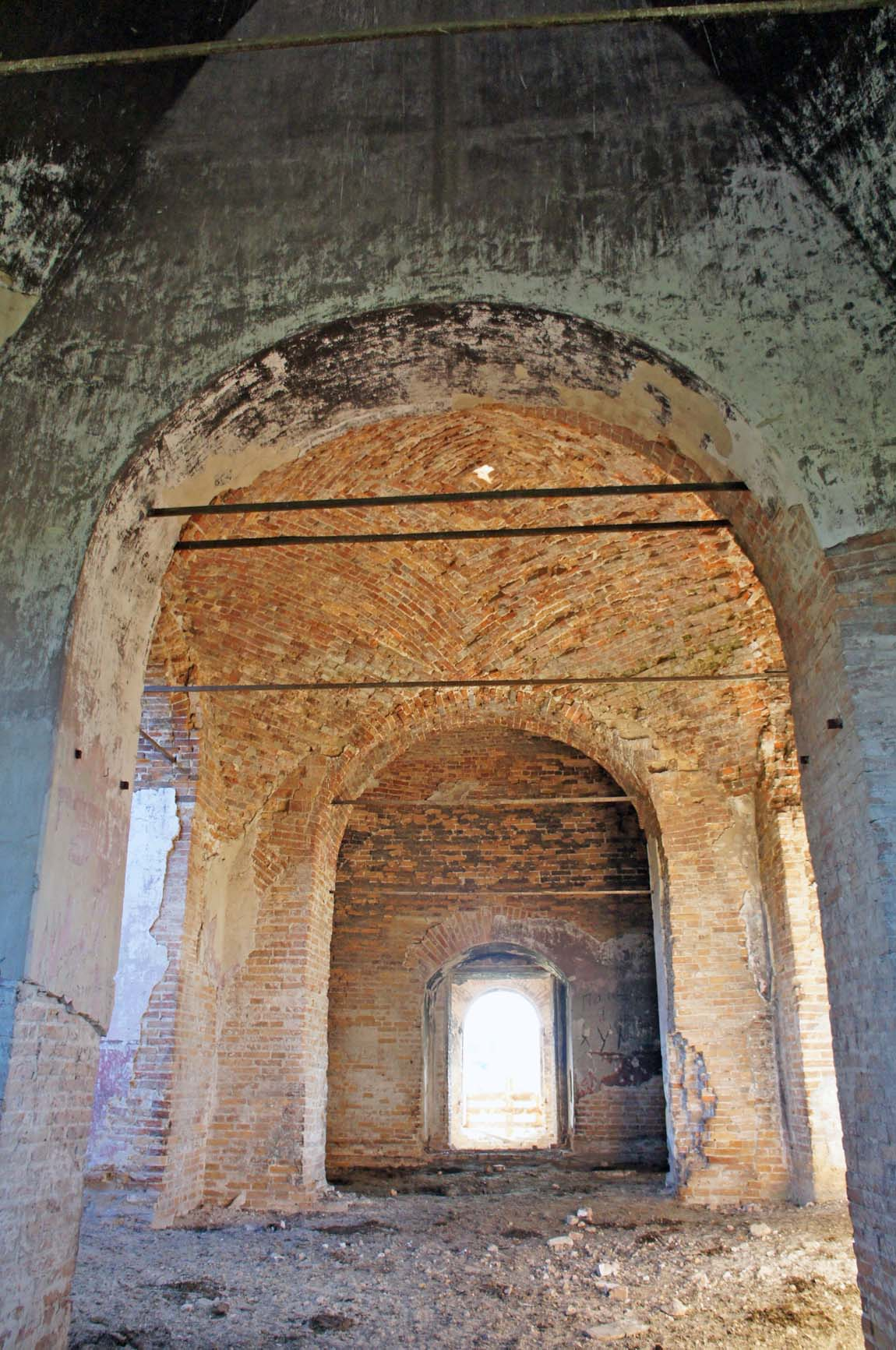 Березовка, центральная ось храма