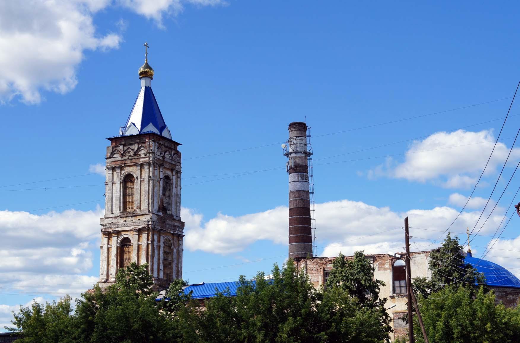 Ирбит. сретенская церков на заводе