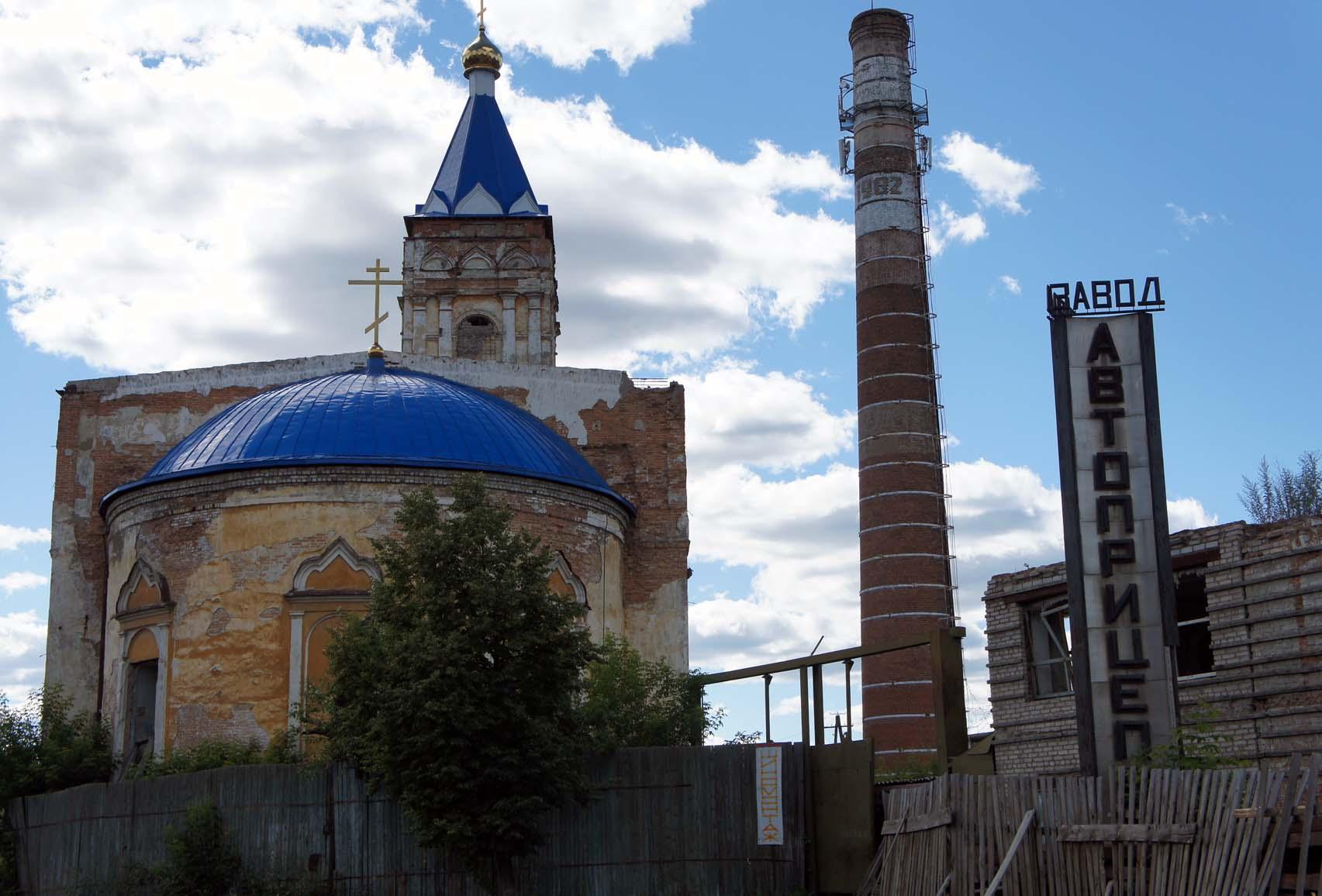 Ирбит. Храм и завод