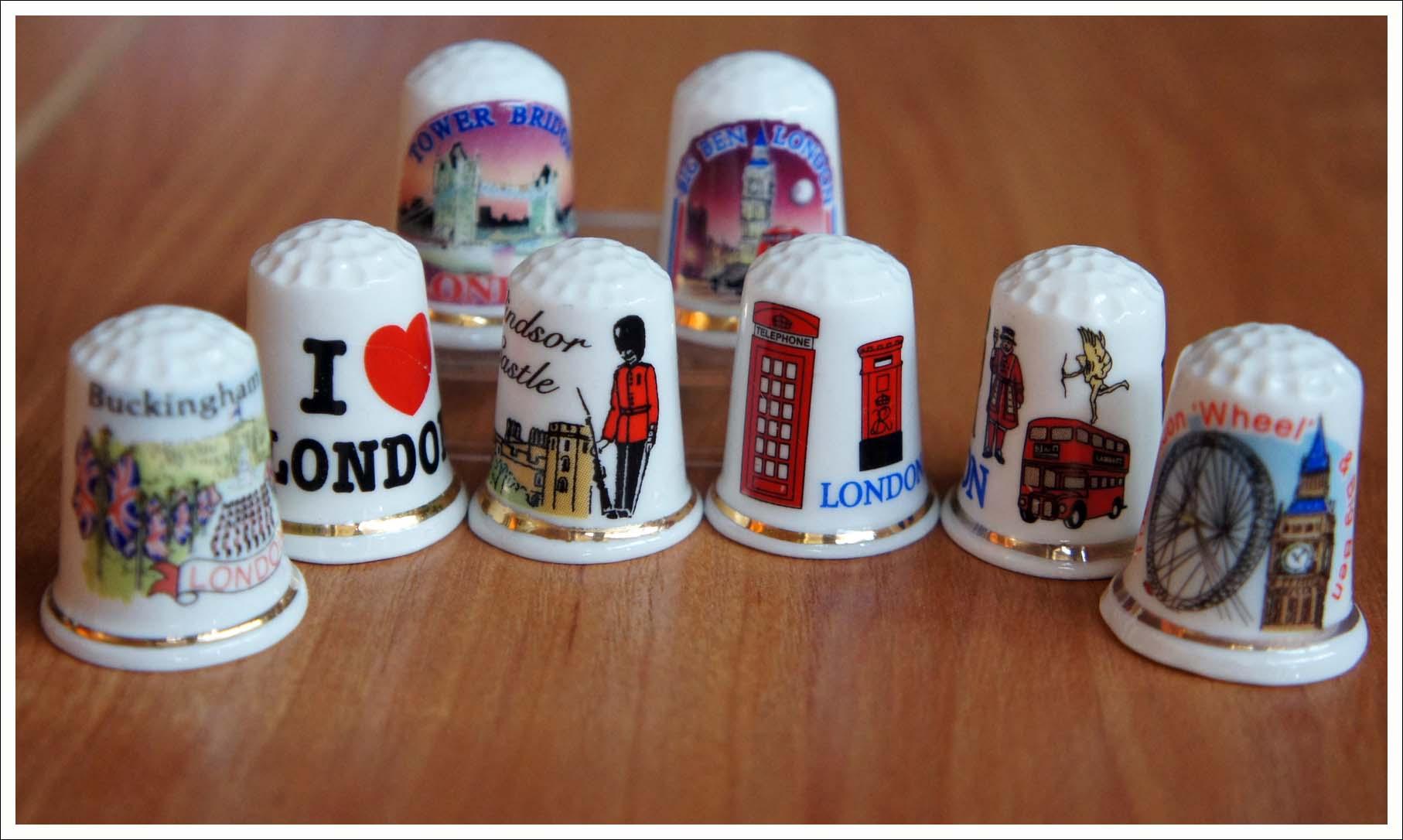 наперстки из Лондона