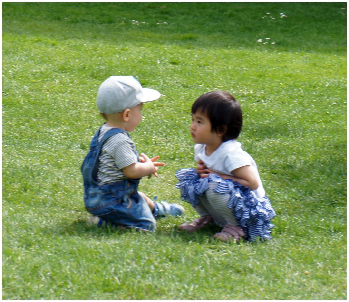 вена разговоры в парке