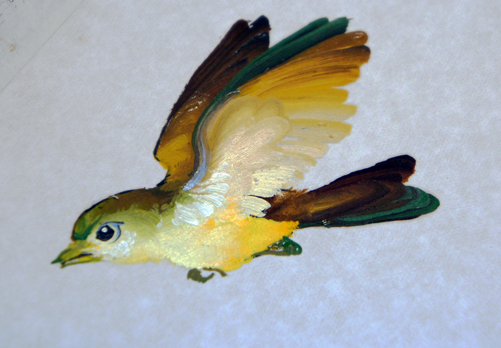 птичка-синичка