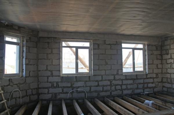 и окна и перекрытие