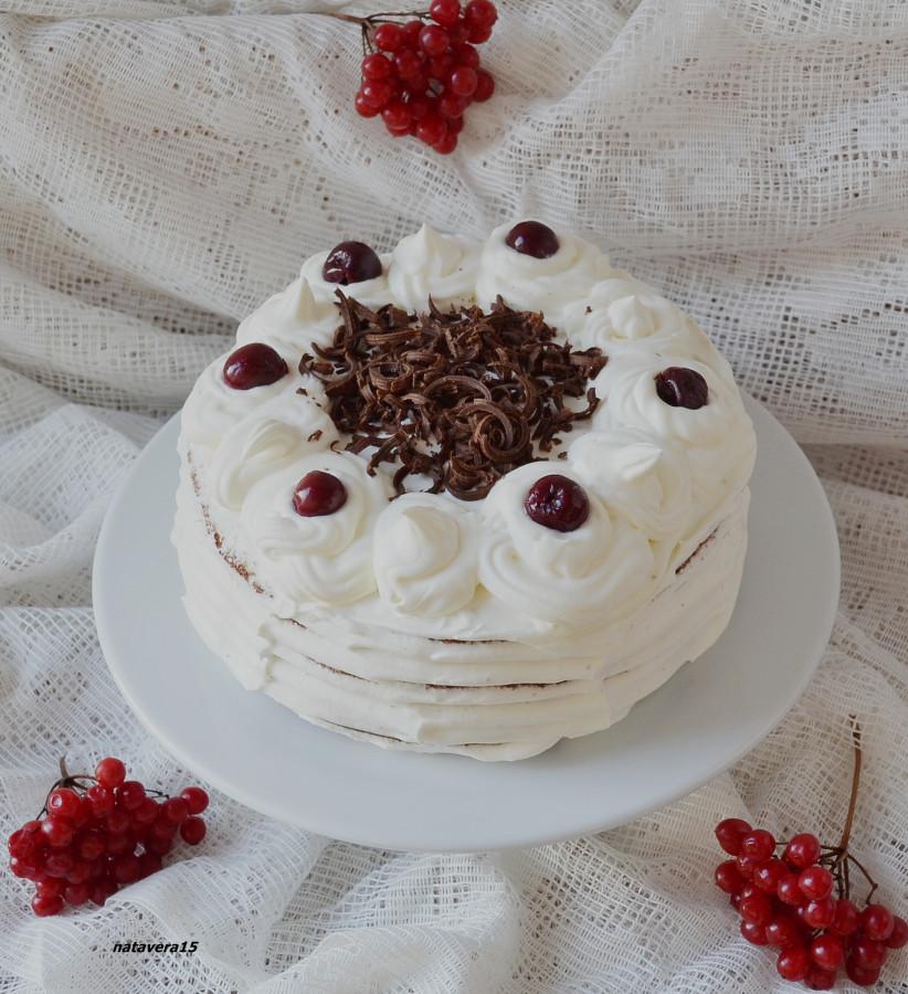Торт белая вишня рецепт