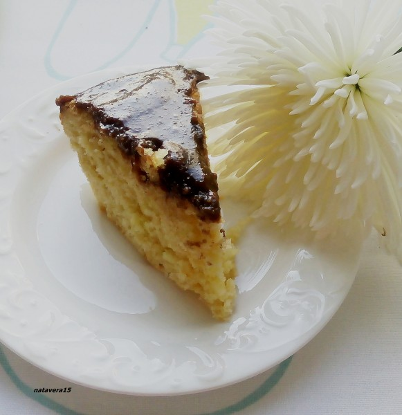 апельсин постный торт1