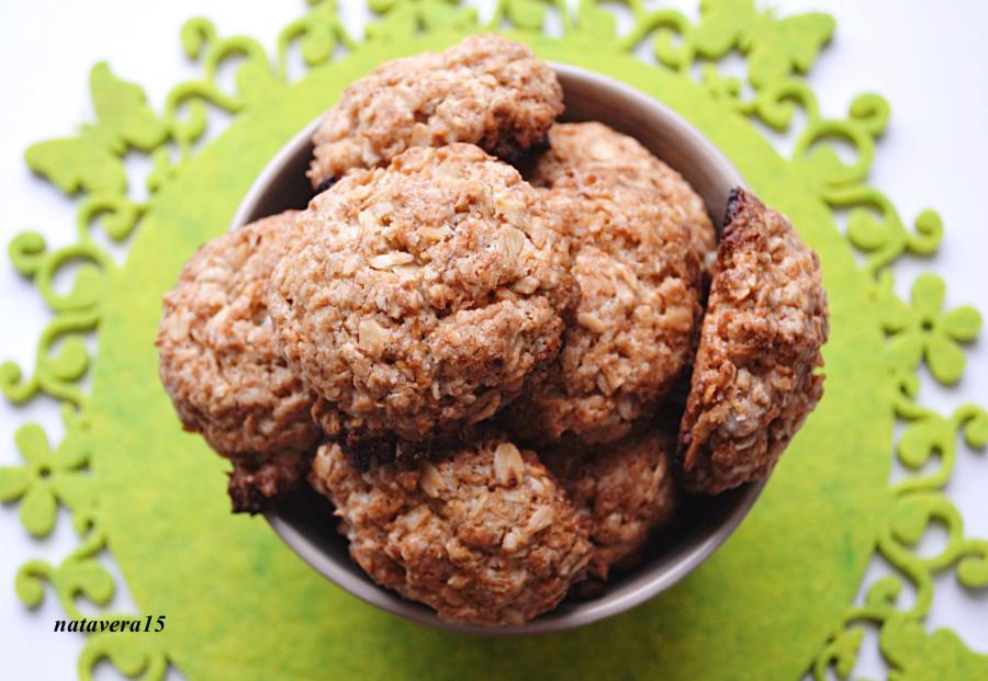 овс печенье с кокос2