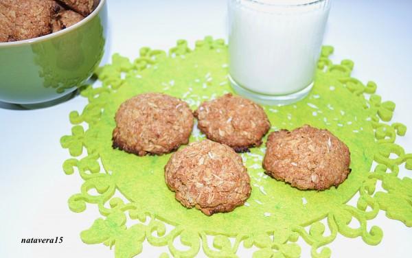 овс печенье с кокос1
