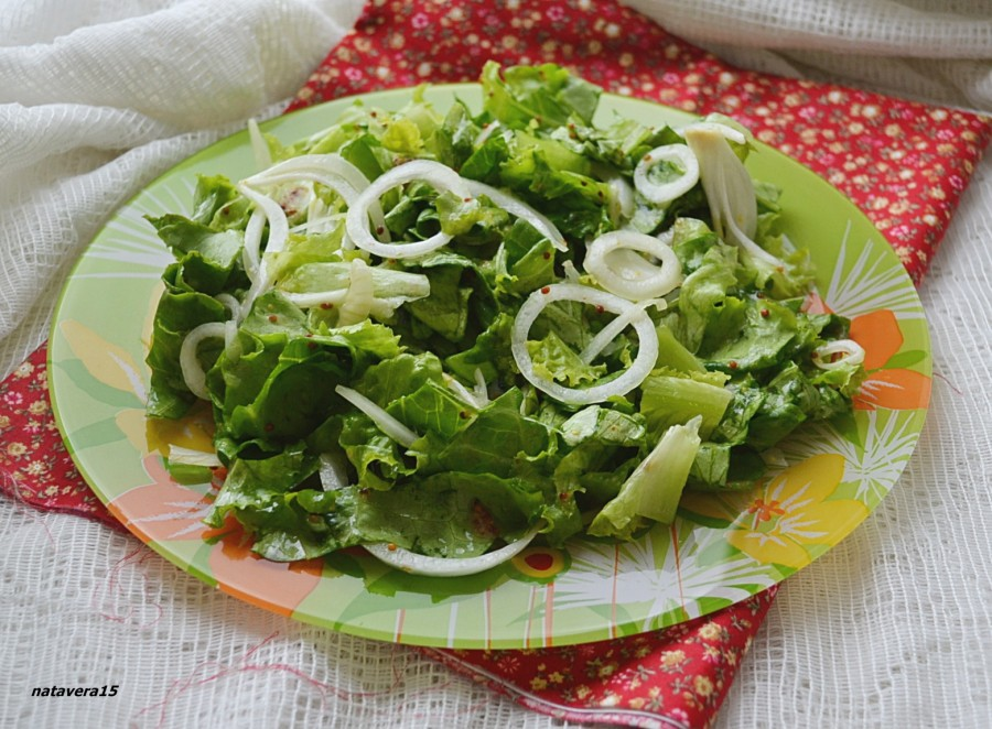 зеленый салат1