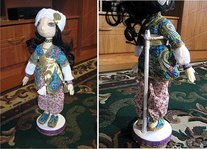 Подставка для кукол своими руками