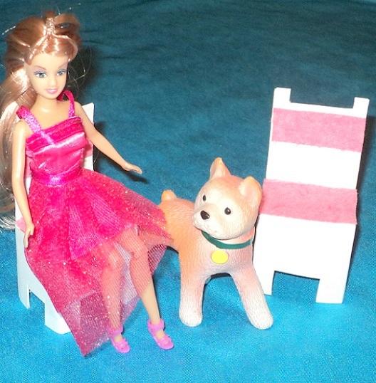 Домик и мебель для куклы своими руками