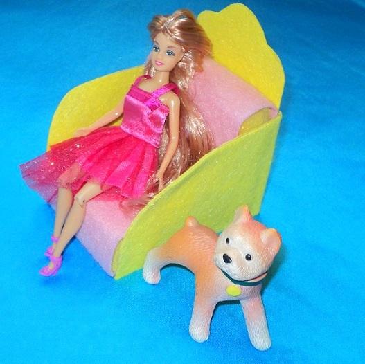 Как сделать мебели для кукол своими руками