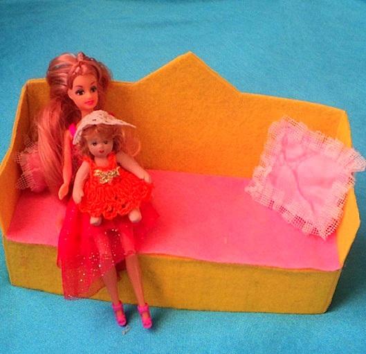 Диван своими руками для куклы