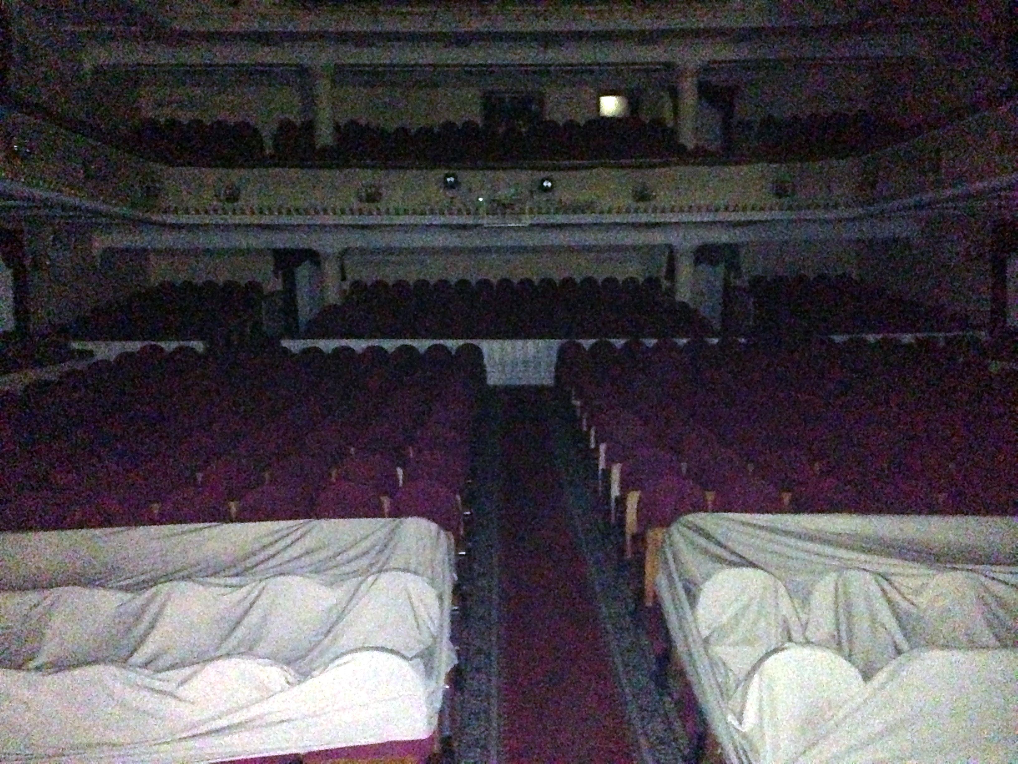 Ночь в театре им. Пушкина