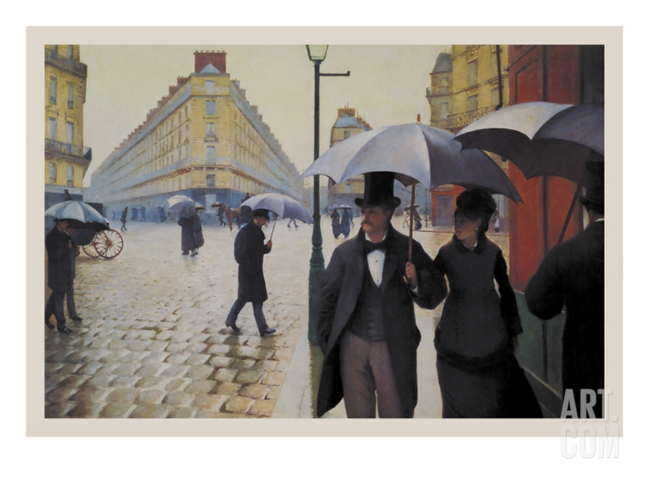 paris street rainy day gustave caillebotte essay basically