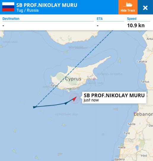 Image 2 AIS screenshot of Nikolai Muru.