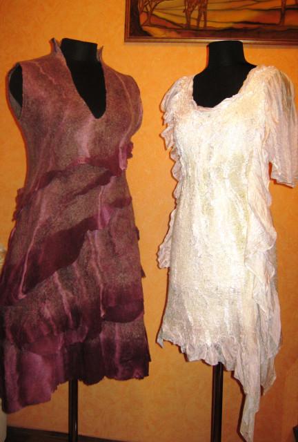 Фото платья из марли