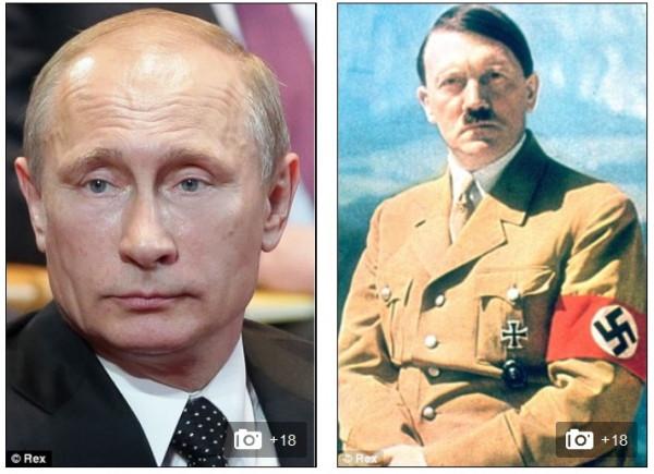 Путин - Гитлер (2)