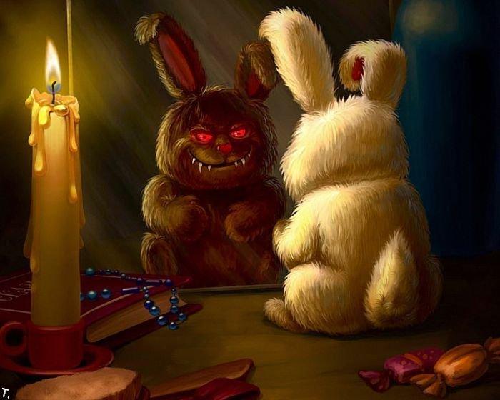 Кролик в зеркале