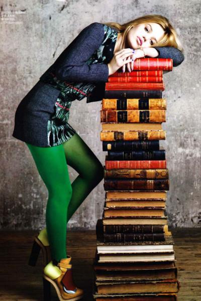 Девушка и книги ЖЖ