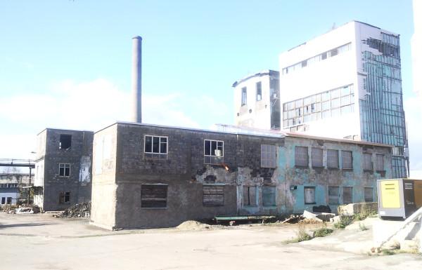 Бывший спиртозавод (Южно-Сахалинск)
