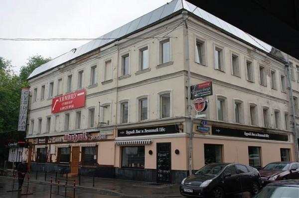 Дом, где родился Пастернак