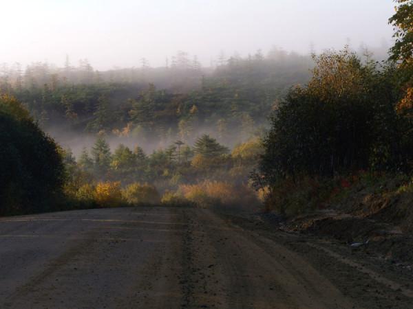Дорога в сопках