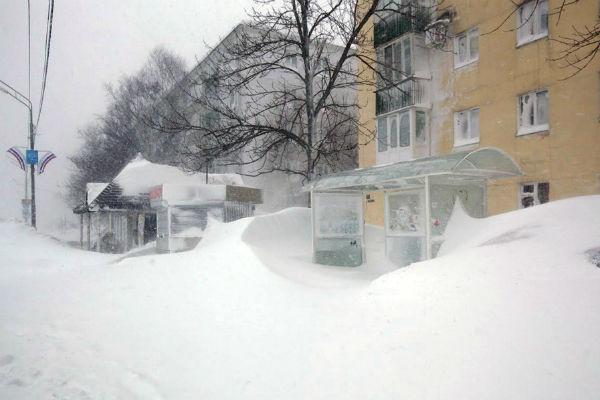 Весенний Южно-Сахалинск