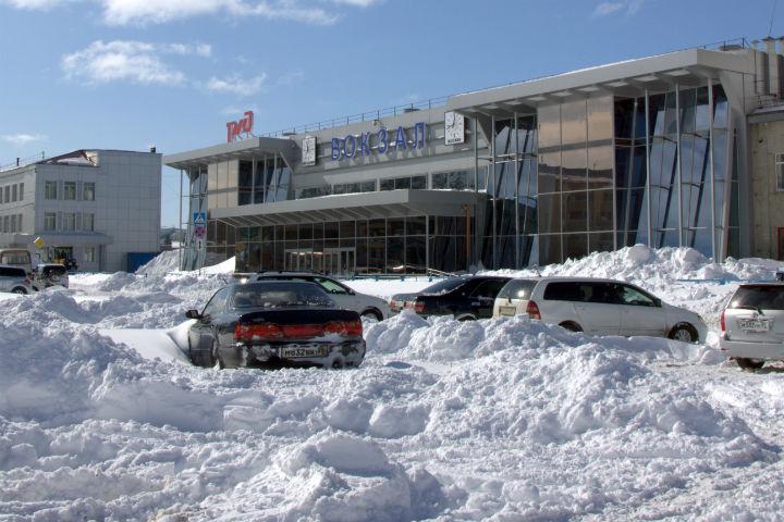 Южно-Сахалинск. Железно-дорожный вокзал.jpg