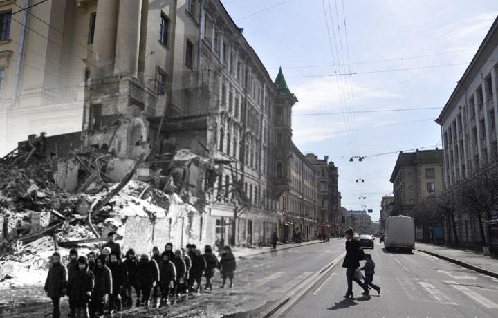 1942-2013. Дети двух тысячелетий (Ленинград - Санкт-Петербург. Суворовский проспект).jpg