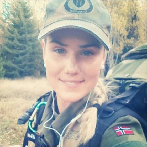 Девушки в армии Норвегии (6).jpg