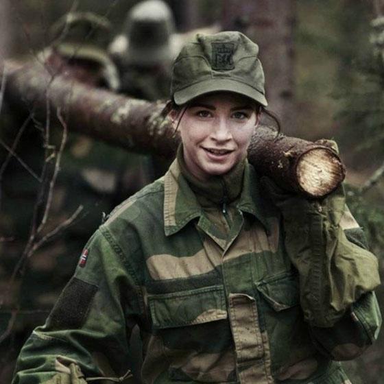 Девушки в армии Норвегии (7).jpg