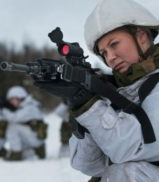 Девушки в армии Норвегии (10).jpg
