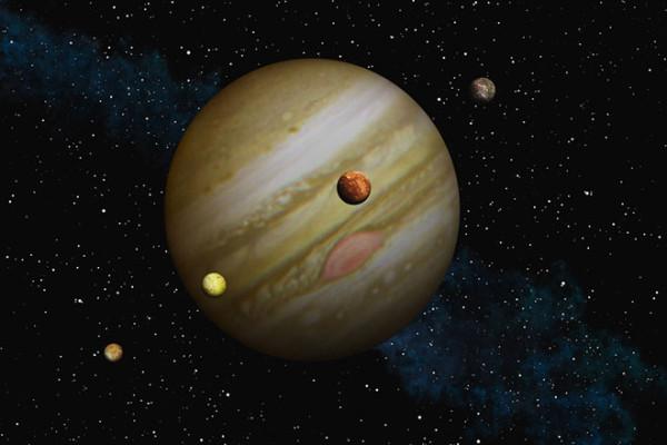 Юпитер и Галилеевы спутники