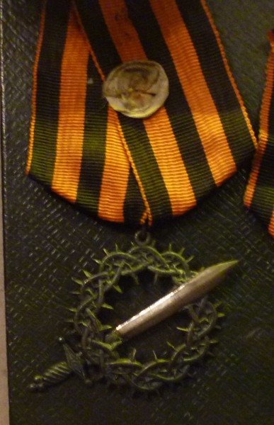 «Знак отличия Первого Кубанского похода», утверждённый Деникиным в 1918 году, одна из самых почитаемых наград в Белой армии[.jpg