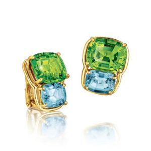 Two-Stone-Earclips-Verdura