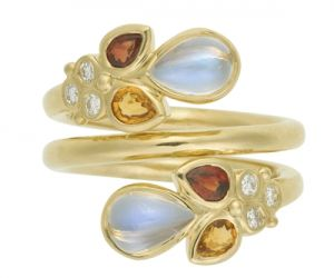 Temple-St.-Clair-18K-Anima-Mummy-Ring-with-rainbow-moonstone-orange-sapphire-red-sapphire-and-diamond-granulation