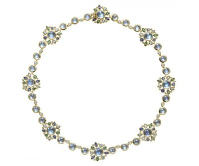 Temple-St.-Clair-18K-Anima-Necklace-with-royal-blue-moonstone-faceted-aquamarine-tanzanite-tsavorite-and-diamond