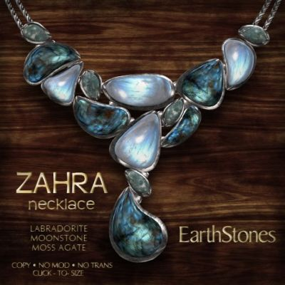 ZAHRA NECKLACE - LABRADORITE