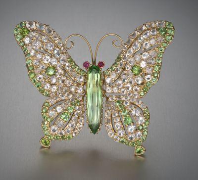 Hiddenite Butterfly