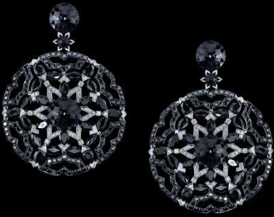 Black-Rose-Earrings