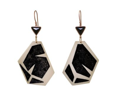 Monique-Pean-Fossilized-Woolly-Mammoth-Earrings-with-Jet-Inlay-and-Black-Spinel-Photo-courtesy-of-Twist