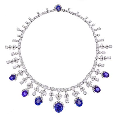 JBB-62-estate-harry-winston-sapphire-diamond-fringe-necklace