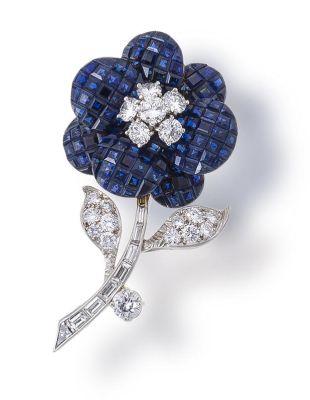 Lot-193-A-sapphire-and-diamond-brooch-Van-Cleef-Arpels1