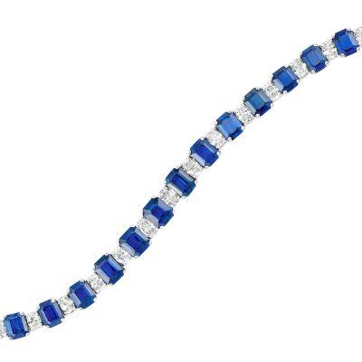 Lot-353-Platinum-Sapphire-and-Diamond-Bracelet-Adler