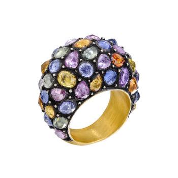 Yossi-Harari-Roxanne-Multicolored-Sapphire-Ring