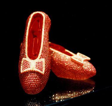 Harry Winston's Ruby Slippers