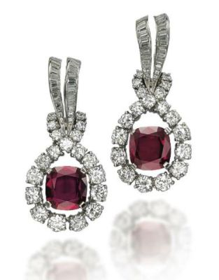 Lot-267-A-PAIR-OF-RUBY-AND-DIAMOND-EARRINGS-BY-TIFFANY-CO.